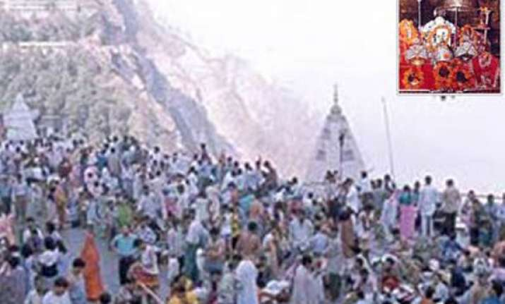 over 3 lakh pilgrims visited vaishnodevi in navratras