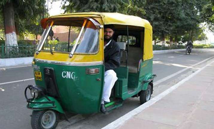 over 4300 autos with gps on delhi streets