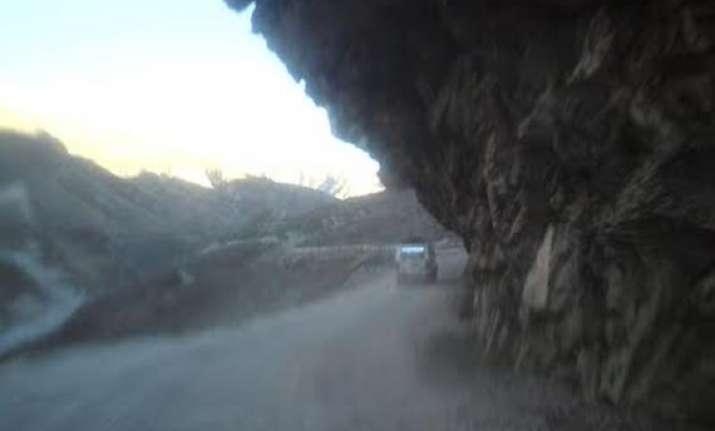 overnight rains block badrinath highway