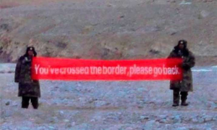 pla troops crossed lac in ladakh while modi was meeting