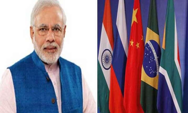 pm narendra modi leaves for brics summit in brazil sunday