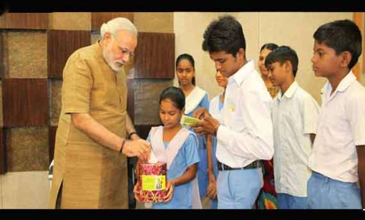 pm narendra modi to hold special class on teacher s day