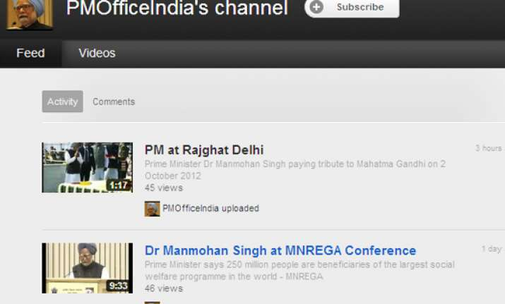 pmo makes its debut on youtube