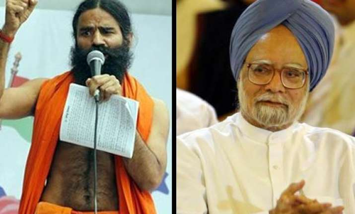 pm appeals to ramdev not to go on fast