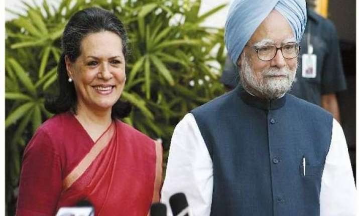 pm meets sonia seeks advice on cabinet reshuffle