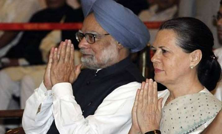 pm sonia not on same page says bjp