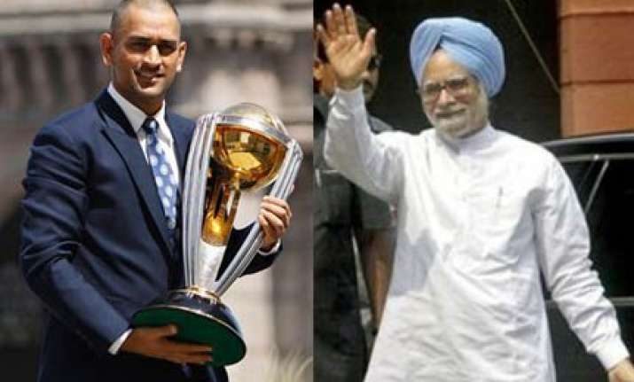 pm speaks to dhoni says country proud of his leadership