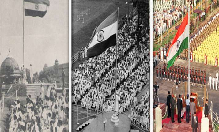 pms who unfurled tricolour at red fort over the years watch