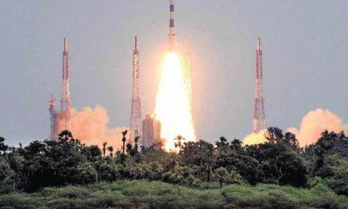 pslv c 18 successfully puts in orbit four satellites