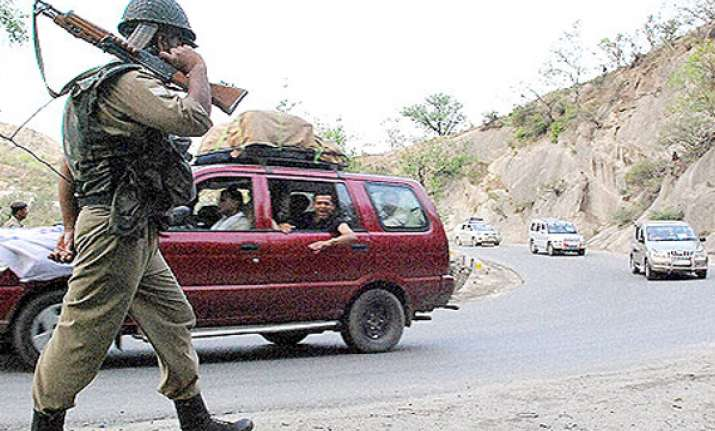 pahalgam observes shutdown over crpf taxi drivers row