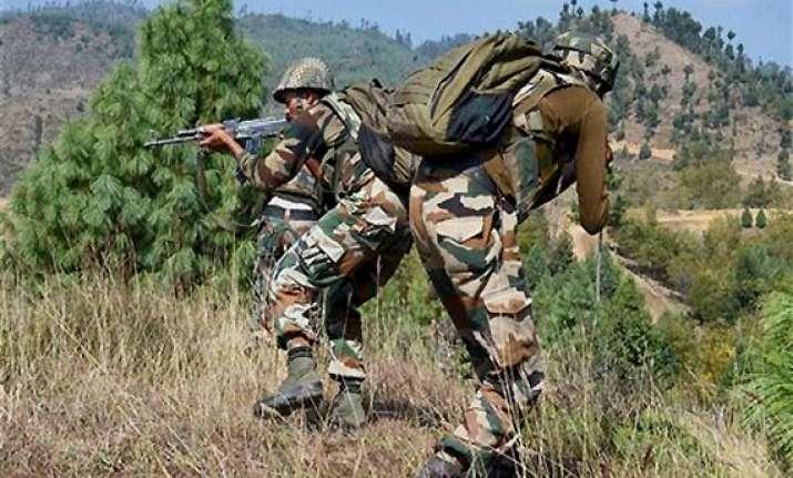 pak shells 17 bops border hamlets in jammu three injured