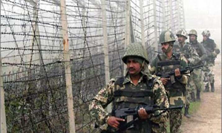 pak troops again open fire in poonch