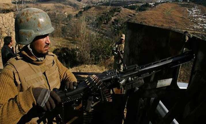 pak troops fire at 7 indian posts 2 bsf jawans injured