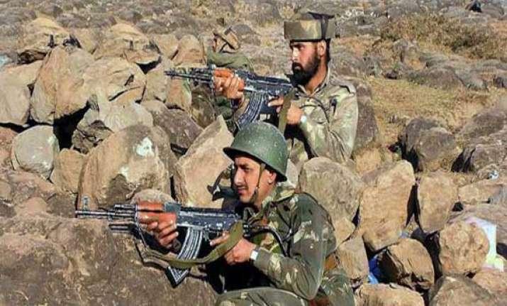 pak violates ceasefire again targets 16 indian posts