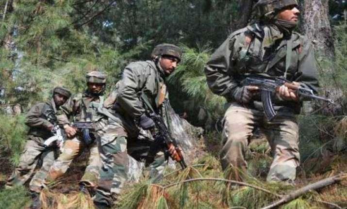 pak violates ceasefire again targets indian posts in jammu