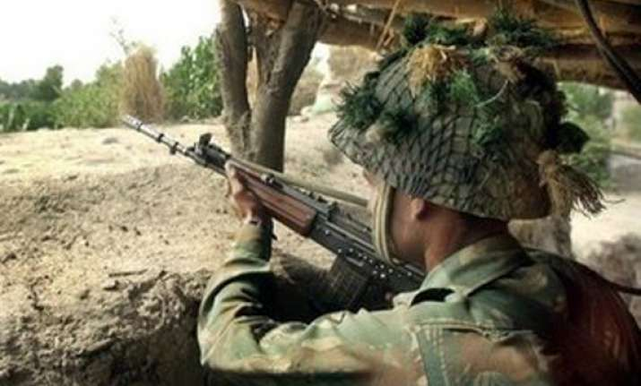 pak violates ceasefire again fires at indian positions