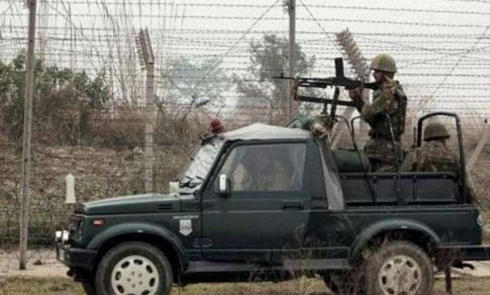 pakistan rangers again target indian positions in jammu