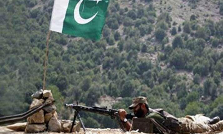pakistan again violates ceasefire along loc