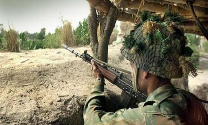 pakistan rangers fire mortars at indian positions in jammu