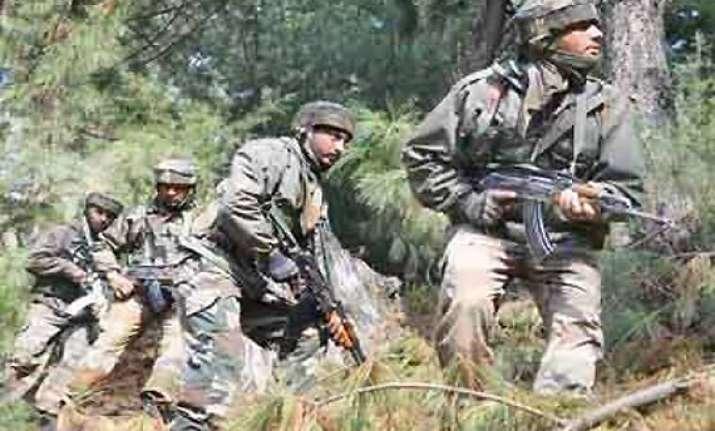 pakistan troops again open fire across loc in jammu