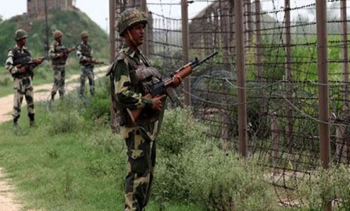 heavy firing by pak troops across loc
