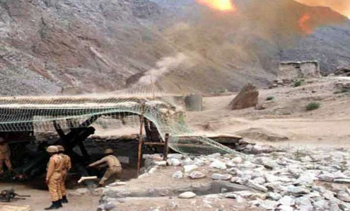 pakistan violates ceasefire along line of control in poonch