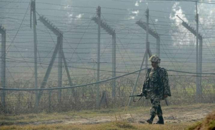 pakistani troops fire across loc in j k
