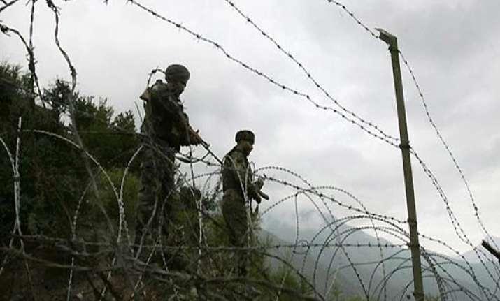 pakistani troops violate loc ceasefire again