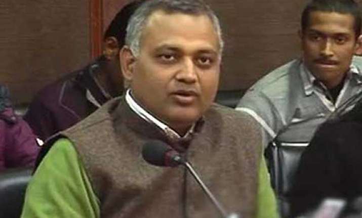 pandemonium in delhi assembly over somnath bharti