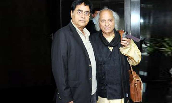 pandit jasraj condoles jagjit singh s death
