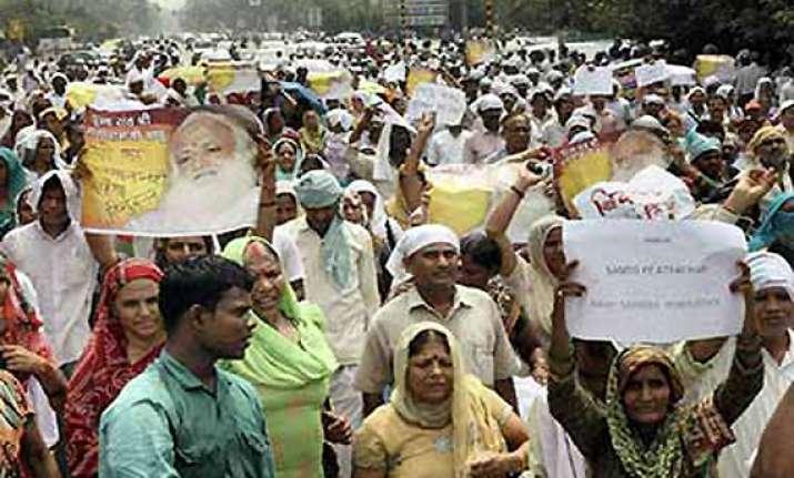 parents of boys found dead near asaram s ashram detained