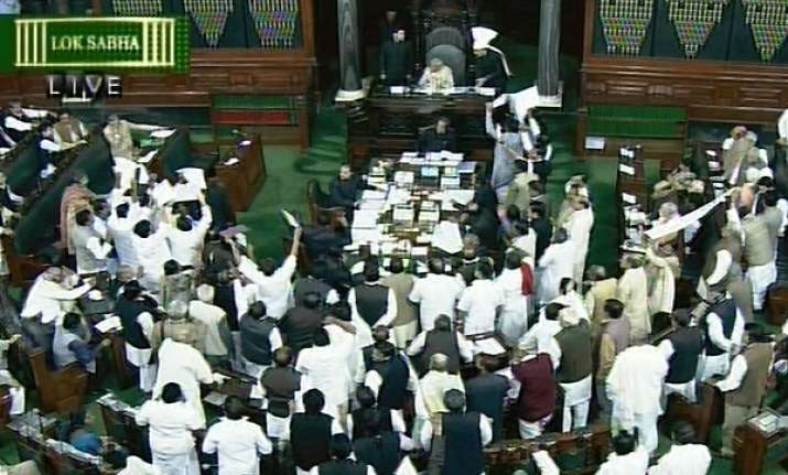 govt in tight corner on fdi parliament paralysed again