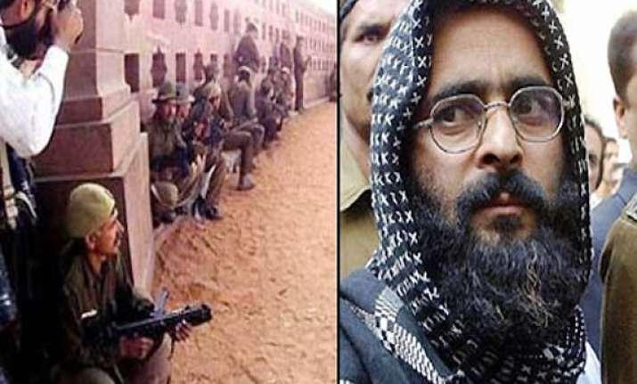parliament attack convict afzal guru shows no fear of death