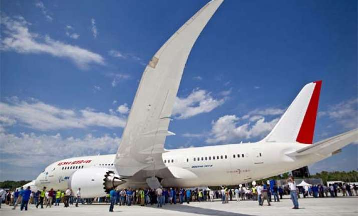 part of fuselage of air india dreamliner falls off mid air