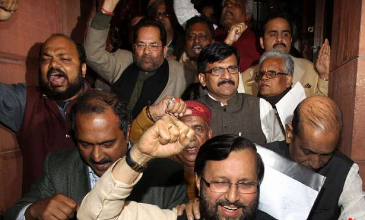 parties cry foul bjp wants govt to resign