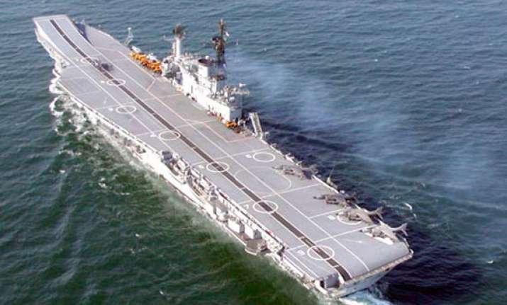 passenger boat rams into ins viraat
