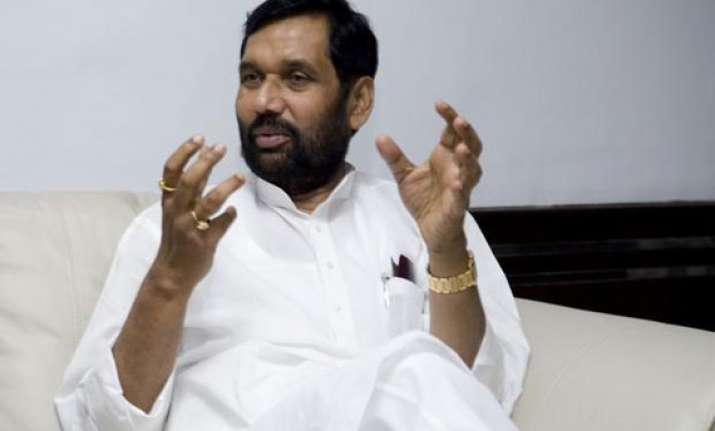 paswan forecasts mid term poll in bihar by oct nov