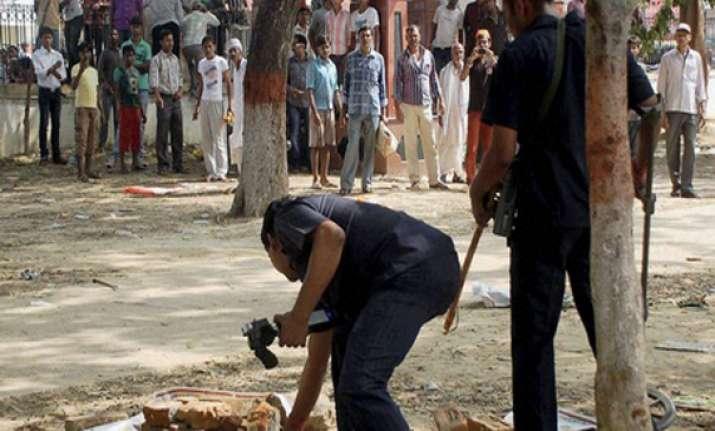 patna blasts terror suspect sent to judicial custody