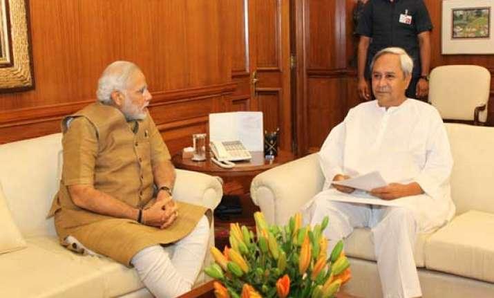 patnaik meets pm to seek special status for odisha evasive