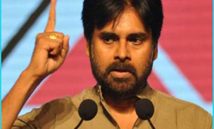 pawan kalyan booked for remarks against trs chief