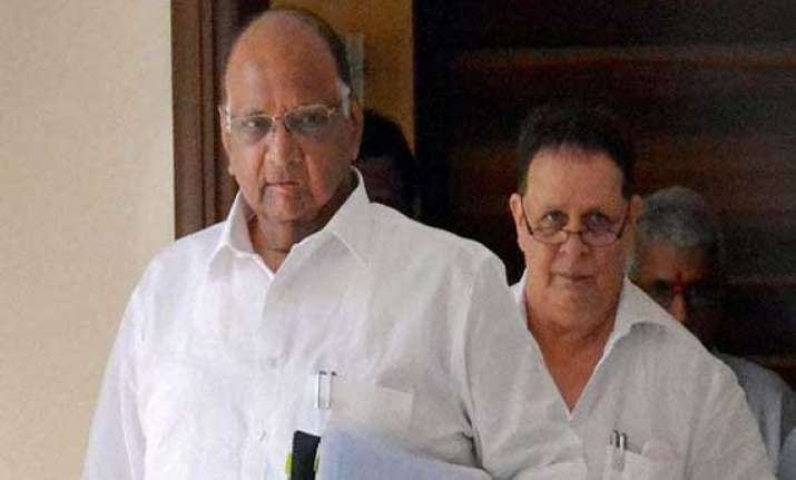 pawar sparks row with bogus voting remark downplays it