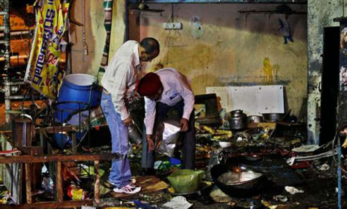 people thought first blast in hyderabad was a gas cylinder