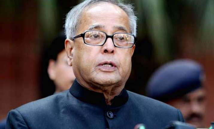 people won t tolerate poor governance president pranab