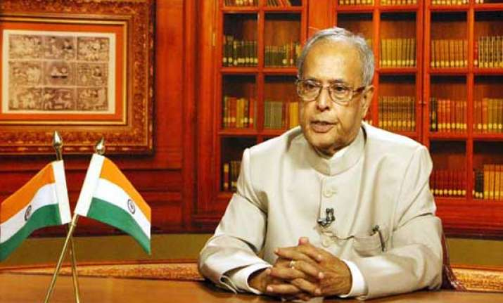 people won t tolerate poor governance pranab mukherjee