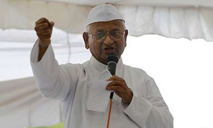 people are the masters of the country says anna hazare