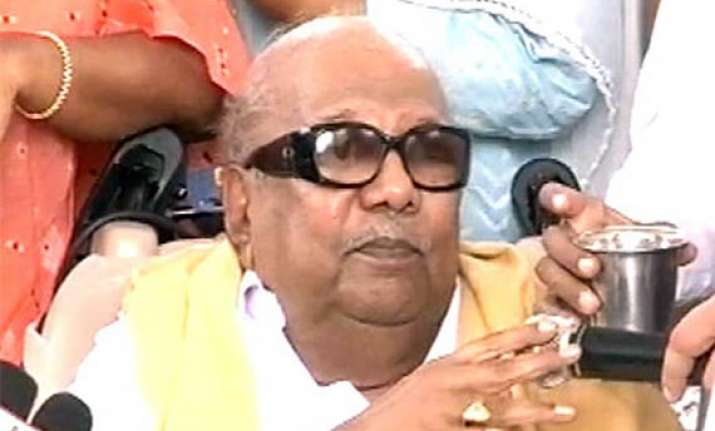 people have given me proper rest says karunanidhi