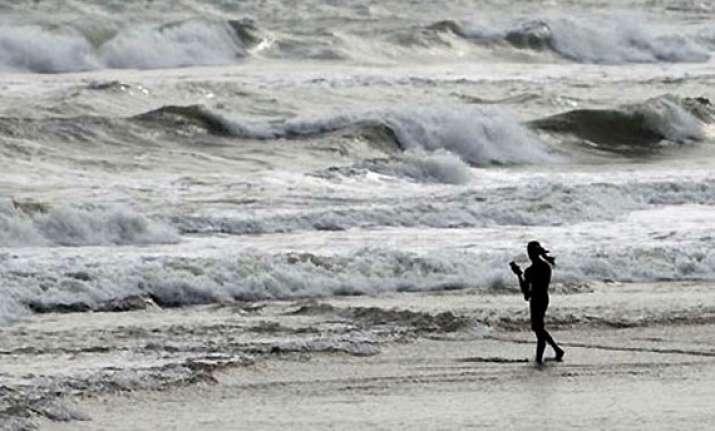 phailin odisha s quietest beach gopalpur bears the brunt of