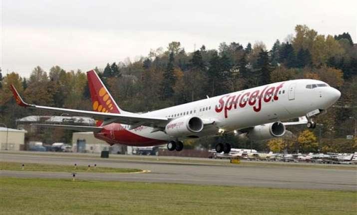 plane tyre bursts narrow escape for 81 passengers