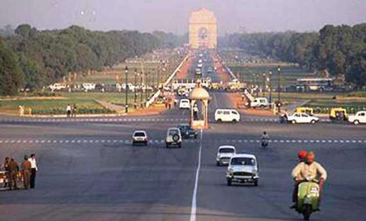 pleasant morning in delhi rain likely later in the day