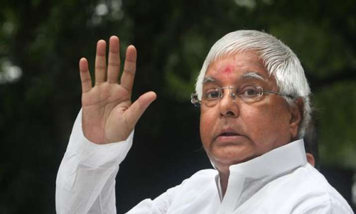 police seeks ec instruction to lodge fir against lalu